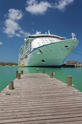 Terminal Photograph - Antigua And Barbuda, Antigua, St by Walter Bibikow