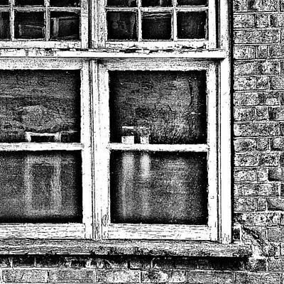 Abstract Wall Art - Photograph - The Window by Jason Michael Roust