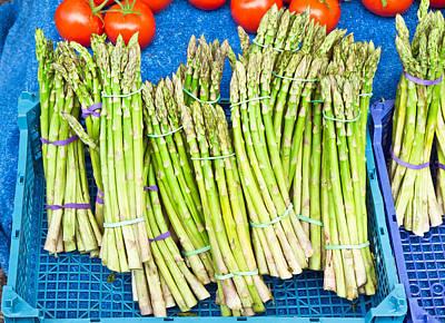 Asparagus Photograph - Asparagus by Tom Gowanlock
