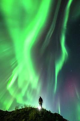 Autumn Hills Photograph - Aurora Borealis by Tommy Eliassen