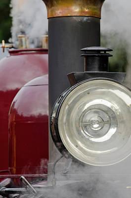Narrow Gauge Engine Photograph - Australia, Dandenong Ranges by Cindy Miller Hopkins