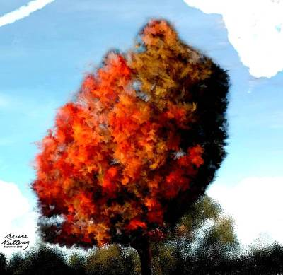Fall Painting - Autumn Tree by Bruce Nutting