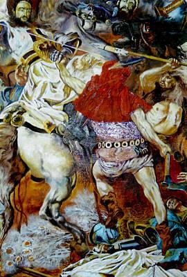 Battle Of Grunwald Art Print by Henryk Gorecki