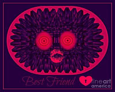 Best Friend Art Print by Meiers Daniel