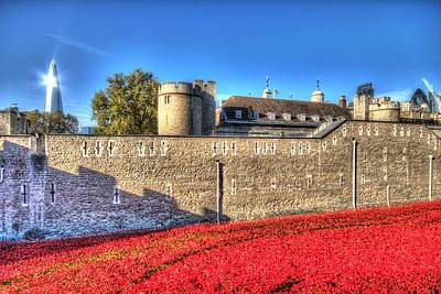 London Photograph - Blood Swept Lands And Seas Of Red by Ash Sharesomephotos
