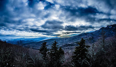 Photograph - Blue Ridge Parkway Winter Scenes In February by Alex Grichenko