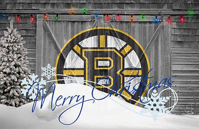 Hockey Sweaters Photograph - Boston Bruins by Joe Hamilton