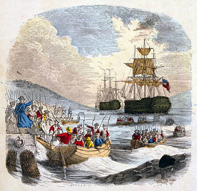 Boston Evacuation, 1776 Art Print by Granger