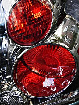 Photograph - Brake Light 13 by Sarah Loft
