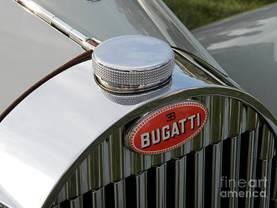 Photograph - Bugatti Type 57 by Neil Zimmerman