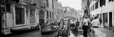 Buildings Along A Canal, Grand Canal Art Print by Panoramic Images
