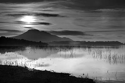 Water And Plants Photograph - Calm Sunset by Guido Montanes Castillo