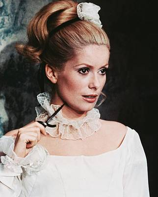 Catherine Photograph - Catherine Deneuve by Silver Screen