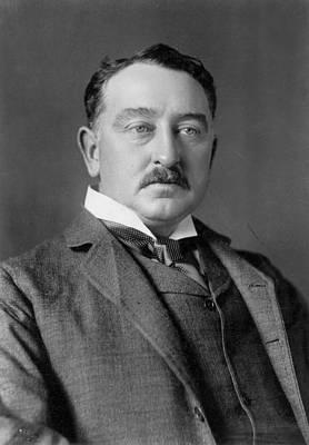 Lapel Photograph - Cecil John Rhodes (1853-1902) by Granger