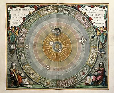 Astronomical Art Photograph - Cellarius, Andreas 1596-1665. Atlas by Everett