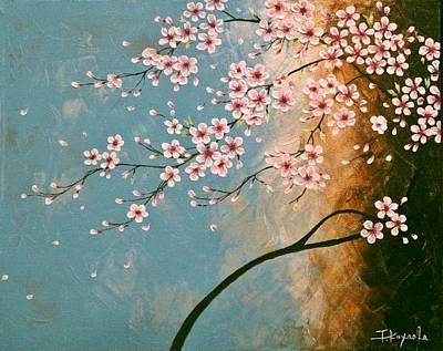 Sakura Painting - Cherry Blossoms by Tomoko Koyama