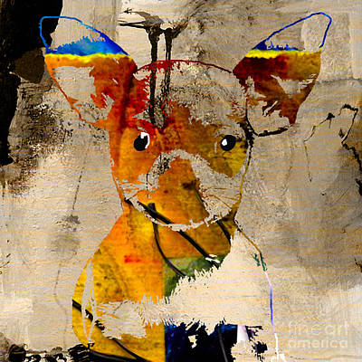 Puppies Mixed Media - Chihuahua by Marvin Blaine