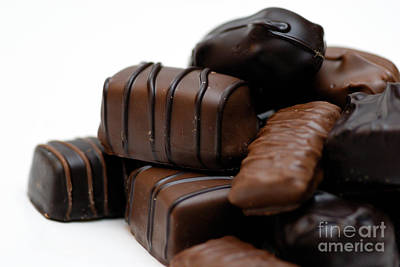 Valentine Photograph - Chocolate Candies by Amy Cicconi