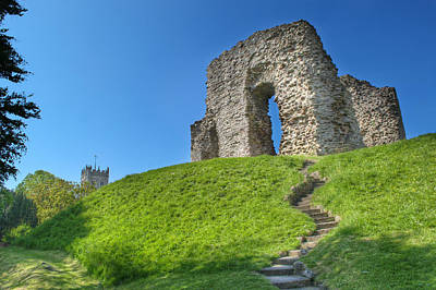 Photograph - Christchurch Castle by Chris Day