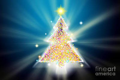 Christmas Tree Original by Atiketta Sangasaeng