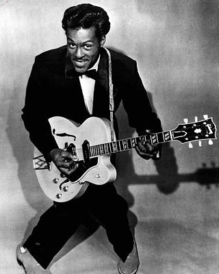 Chuck Berry Art Print by Retro Images Archive