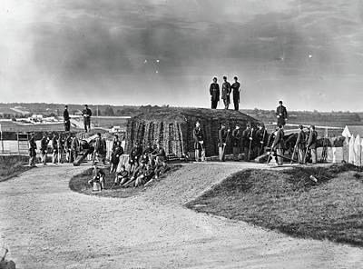 Civil War Union Fort Art Print