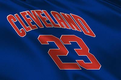 Lebron James Photograph - Cleveland Cavaliers Uniform by Joe Hamilton