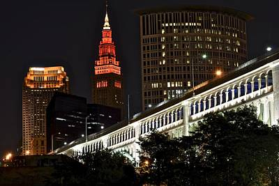 Photograph - Cleveland Ohio by Frozen in Time Fine Art Photography