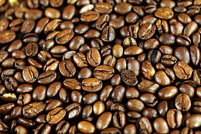 Kaffee Photograph - Coffee Beans by Falko Follert