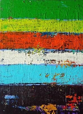 6 Colores Art Print by Everette McMahan jr