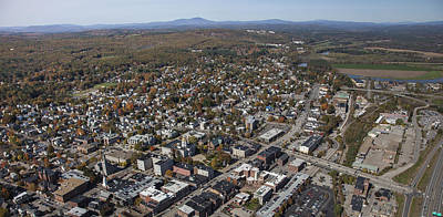 Concord Center Photograph - Concord, New Hampshire Nh by Dave Cleaveland