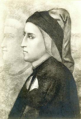 Bondone Painting - Dante Alighieri (1265-1321) by Granger