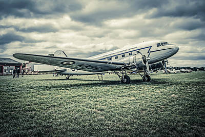 Transportion Photograph - Dc-3  by Chris Smith