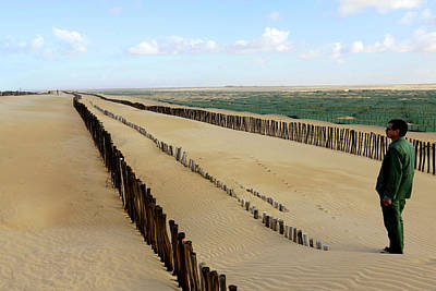 Moroccan Photograph - Desertification Prevention by Thierry Berrod, Mona Lisa Production