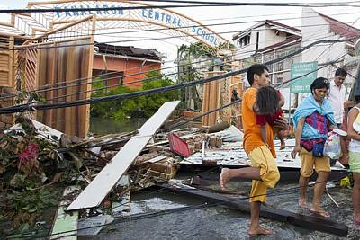 Destruction After Super Typhoon Haiyan Art Print
