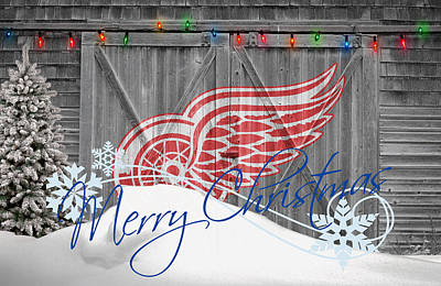 Skate Photograph - Detroit Red Wings by Joe Hamilton