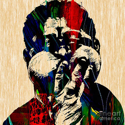 Musician Mixed Media - Dizzy Gillespie Collection by Marvin Blaine