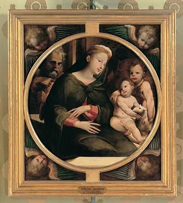 Child Jesus Photograph - Domenico Di Giacomo Di Pace Known by Everett