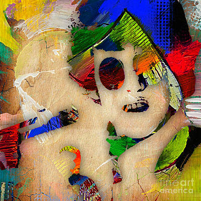 Poster Mixed Media - Donovan Collection by Marvin Blaine
