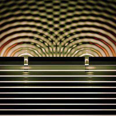Double-slit Experiment Art Print