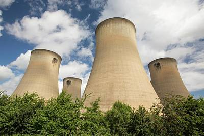 Drax Power Station In Yorkshire Art Print