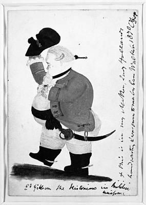 Edward Gibbon (1737-1794) Art Print by Granger