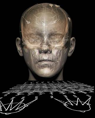 Electroencephalography Art Print by Zephyr