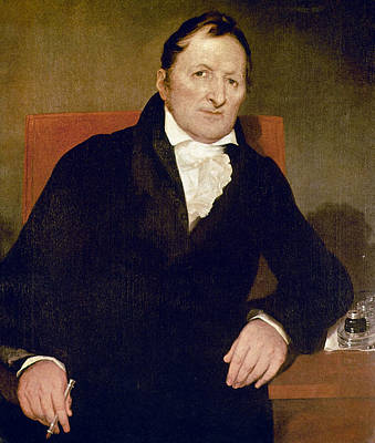 Painting - Eli Whitney (1765-1825) by Granger