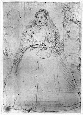 Drawing - Elizabeth I (1533-1603) by Granger