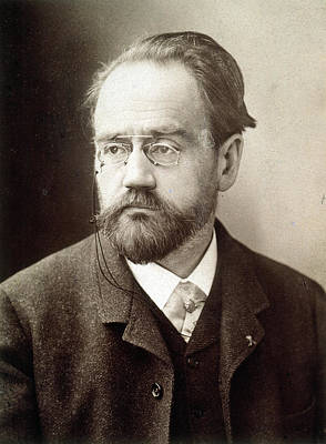 Emile Zola (1840-1902) Art Print