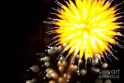 Fireworks Art Original by Benjamin Simeneta