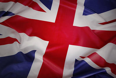 Flag Print by Les Cunliffe