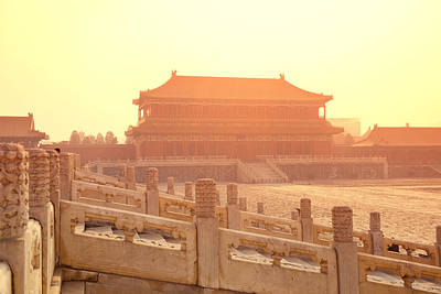 Photograph - Forbidden City by Songquan Deng