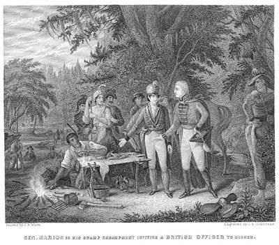 Francis Marion (1732?-1795) Art Print by Granger